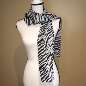 Accessories - Zebra print scarf - Bundle and save 3 for $15!